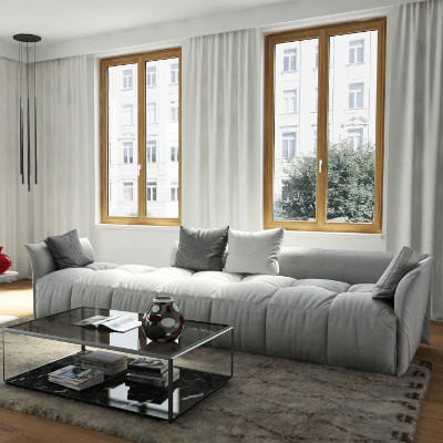 Finestre in legno, finestre in PVC, finestre in alluminio