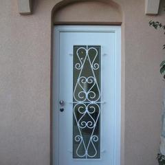Porta d'ingresso blindata con vetro Beausoleil