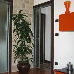 Porta in Alluminio FerreroLegno Modelllo Nexa Camporosso