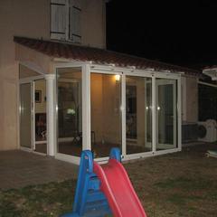 Veranda in alluminio Nizza