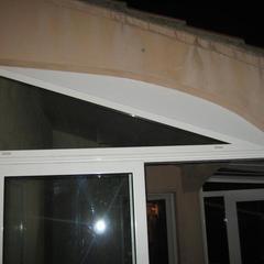 Sopraluce in alluminio veranda alluminio Nizza